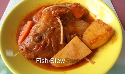 Fish stew recipe for Authentic african cuisine from ghana