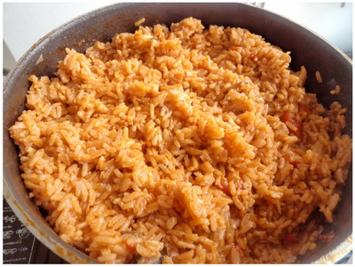 Jollof Rice is o n e of the most famous rice recipe in Nigeria, but a ...